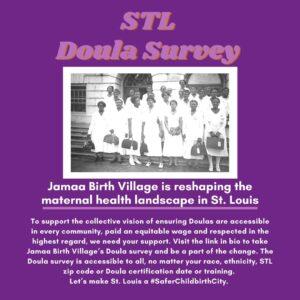 Jamaa Birth Village Doula Survey